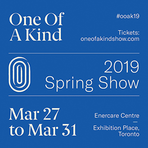 Information about Spring 2019 One of a Kind Show in Toronto