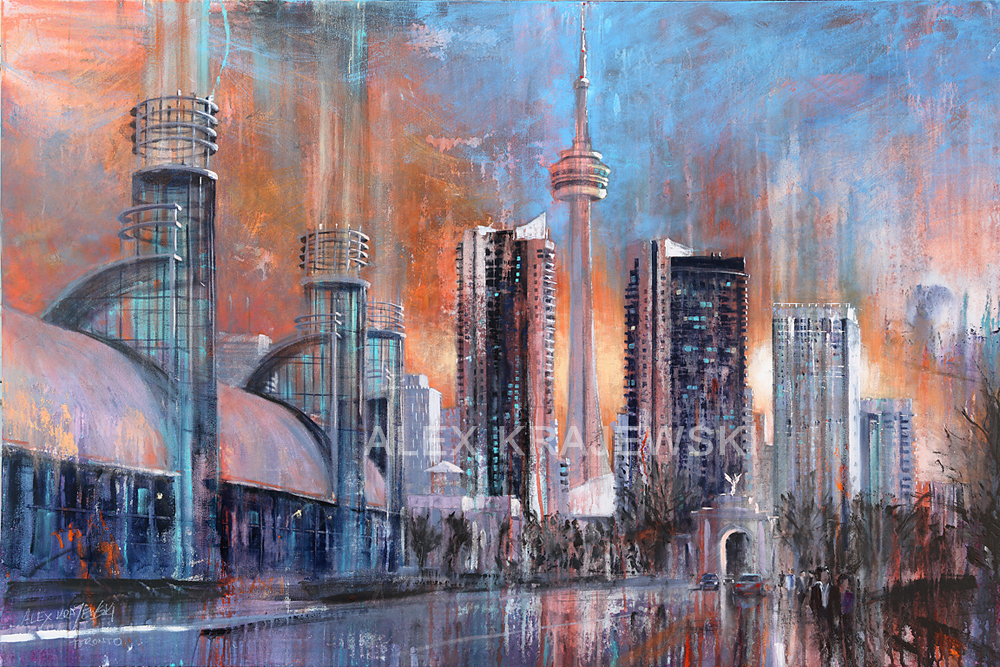 D Printing Exhibition Toronto : Toronto exhibition place sunrise by alex krajewski