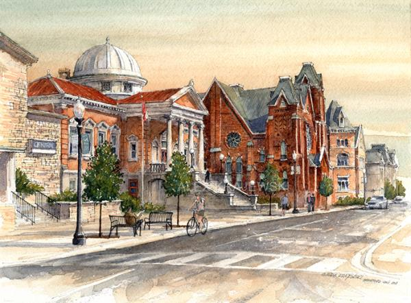 Brantford-George Street-Original - SOLD - Krajewski