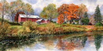 Fall Reflections - Krajewski