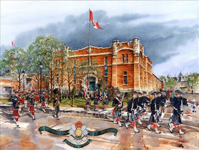 Galt Armoury - Commemorative Limited Edition Print - Krajewski