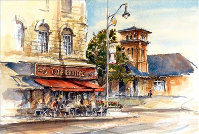 Old Train Station - Guelph -ORIGINAL AVAILABLE - Krajewski