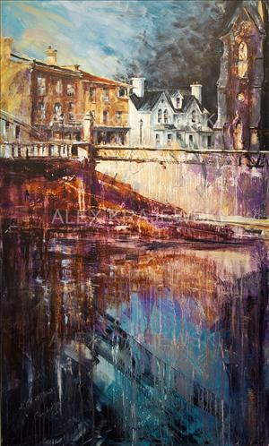 The White House - Cambridge - ORIGINAL - SOLD - Krajewski