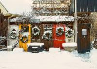Elora Christmas Wreaths - wide