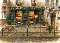 Les Mauvais Garcons-French Cafe