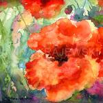 Poppy 1- ORIGINAL-SOLD