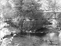 Soper Park Bridge B&W