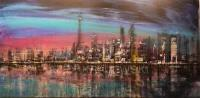 Toronto Night Skyline - ORIGINAL - SOLD
