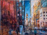 Toronto - Bay Street -RBC - ORIGINAL -SOLD
