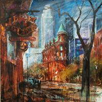 Toronto - Gooderham Building - ORIGINAL - SOLD