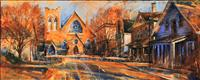 Trinity Church - Cambridge - ORIGINAL - SOLD