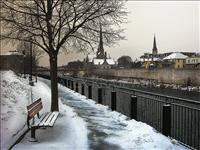 Winter Bench - horizontal